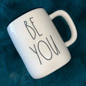 "NEW! RAE DUNN ""Be You"" Ceramic Mug, NWT!"